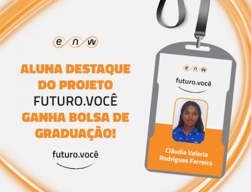 Confira a aluna destaque do projeto Futuro.Você em 2016