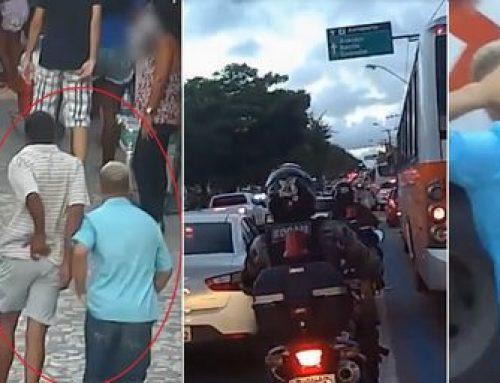 Videomonitoramento auxilia a policia de Maceió na apreensão de bandidos